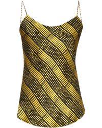 Duro Olowu - Harlem Deco-print Silk Cami Top - Lyst