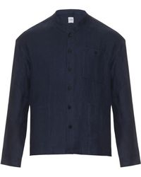 Fanmail - Stand-collar Linen Jacket - Lyst