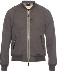 Burberry Brit - Zip-front Bomber Jacket - Lyst