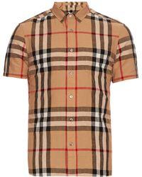 Burberry Brit - Short-sleeved House-check Shirt - Lyst