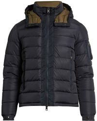 Moncler - Danube Detachable-hood Quilted-down Coat - Lyst