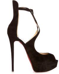 christian louboutin fake - Christian Louboutin Heels | High Heels, Pumps & Platform Heels | Lyst