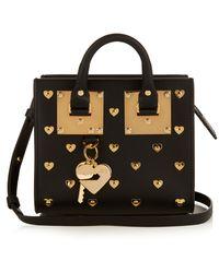 Sophie Hulme - Albion Box Mini Leather Cross-body Bag - Lyst