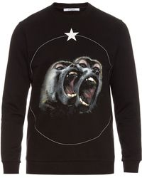 Givenchy - Cuban-fit Screaming Monkey Jumper - Lyst