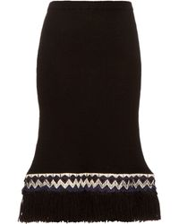 Jupe by Jackie - Pareto Wool-knit Skirt - Lyst