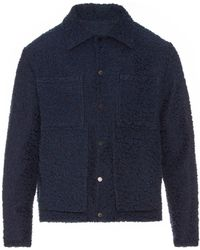 Björn Borg - Double-pocket Bouclé Field Jacket - Lyst