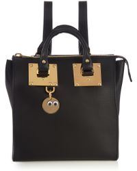 3b603ea8b35d Sophie Hulme - Holmes Small Leather Backpack - Lyst