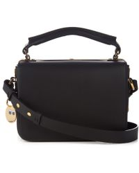 Sophie Hulme - Finsbury Classic Leather Cross-body Bag - Lyst
