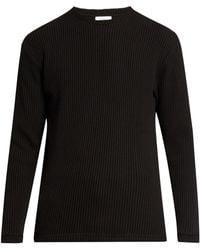 Fanmail - Waffle-knit Cotton Sweater - Lyst