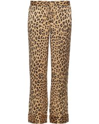 Equipment - X Kate Moss Avery Silk Trousers - Lyst