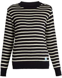 Orcival - Striped Wool Sweater - Lyst