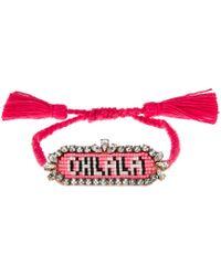 Shourouk - Happy Oh La La Bracelet - Lyst