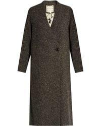 Trademark - Donegal Tweed Coat - Lyst