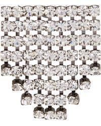 N°21 - Crystal-embellished Brooch - Lyst