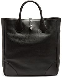 Dunhill - Boston Leather Tote - Lyst