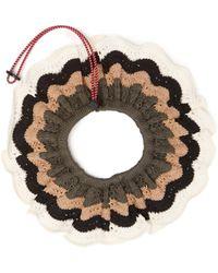 Marni - Scallop-edged Crochet Collar - Lyst