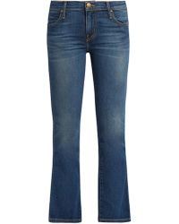 The Great | The Nerd Mid-rise Kick-flare Jeans | Lyst