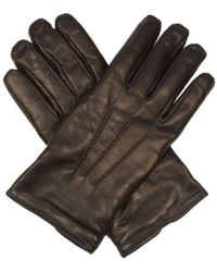 Giorgio Armani - Leather Gloves - Lyst