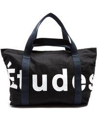 Etudes Studio - May Logo-print Cotton-piqué Tote - Lyst