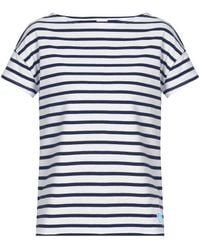 Orcival - Breton-striped Cotton T-shirt - Lyst