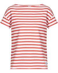 Orcival - Breton-striped Cotton T-shirt - Lyst