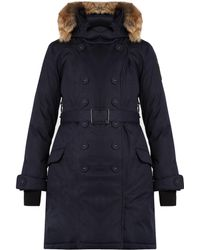 Nobis - The Tula Double-breasted Parka - Lyst