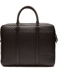 Paul Smith - No.9 Embossed-leather Briefcase - Lyst