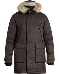 Nobis - The Yatesy Fur-trimmed Parka - Lyst