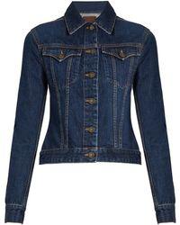 Rockins | Button-down Denim Jacket | Lyst