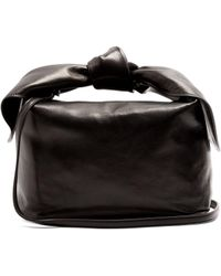Simone Rocha - Knotted Leather Clutch - Lyst