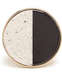 Etro - Ceramic-disc Signet Ring - Lyst