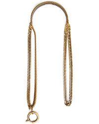 Balenciaga - Layered-chain Necklace - Lyst