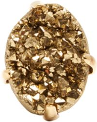 Christopher Kane - Raw Stone Ring - Lyst