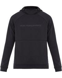 Peak Performance - Pulse Hooded Performance Sweatshirt - Lyst