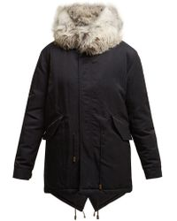 Mr & Mrs Italy - Fox Fur Hooded Parka - Lyst