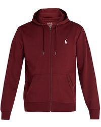 Polo Ralph Lauren - Zip-through Hooded Performance Sweatshirt - Lyst