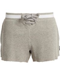 The Upside - Oxford Cotton Shorts - Lyst