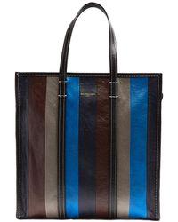 Balenciaga - Bazar Medium Leather Tote - Lyst