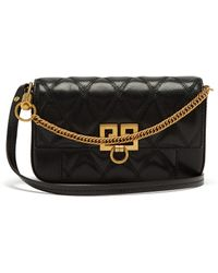 Givenchy - Pocket Quilted Leather Cross Body Bag - Lyst