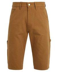 Junya Watanabe - X Carhartt Contrast-pocket Cotton-duck Shorts - Lyst