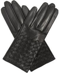 Bottega Veneta | Intrecciato-leather Gloves | Lyst