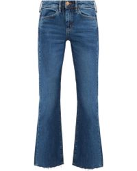 M.i.h Jeans - Lou High-rise Flared Jeans - Lyst
