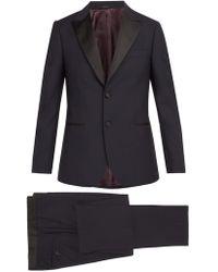 Paul Smith - Single Breasted Wool Blend Tuxedo - Lyst