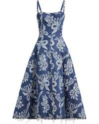 Junya Watanabe - Floral Jacquard Dress - Lyst