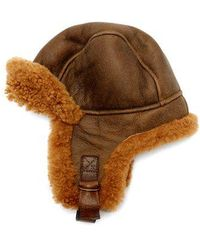 Isabel Marant - Airy Shearling Aviator Hat - Lyst