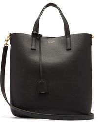 Saint Laurent - Shopping Toy Leather Tote Bag - Lyst