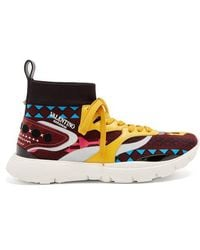 Valentino - Heroes Tribe High-top Trainers - Lyst