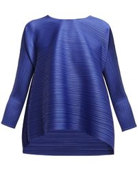 Pleats Please Issey Miyake - Stratum Bounce Pleated Top - Lyst