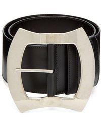 Miu Miu - Leather Waist Belt - Lyst
