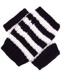 Gucci - Striped Wool Fingerless Glove - Lyst